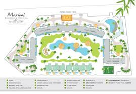 Nayarit Mexico Map by Marival Residences Luxury Resort Map