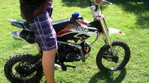125cc motocross bikes for sale cheap 125cc pit bike demo youtube