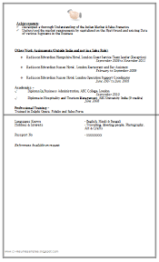 Marketing Resume Example by Over 10000 Cv And Resume Samples With Free Download Sales