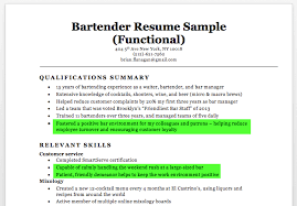 bartender resume template bartending resume sles bartender sle writing tips companion