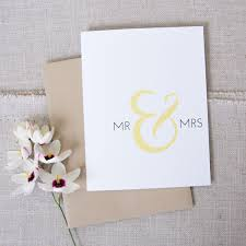 wedding congratulations mr mrs wedding congratulations card modern wedding