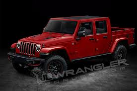 jeep concept truck gladiator will the jeep wrangler pickup look like this motor trend canada