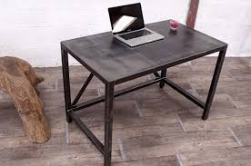 bureau industriel metal table bureau acier métal style industriel micheli design