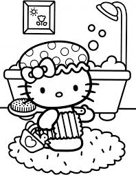 kitty colouring pages ideas coloring invitations paper