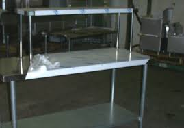 stainless steel table with shelves impressive shelf style commercial stainless steel kitchen decorative
