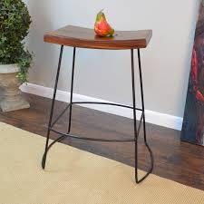 Home Bar Furniture For Sale Carolina Marten Saddle Seat Bar Stool Hayneedle