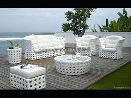 White Wicker Outdoor Patio Furniture White Furniture Attractive White Wicker Patio Furniture