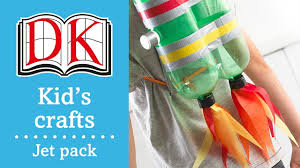 fun kids u0027 craft how to make a jet pack youtube