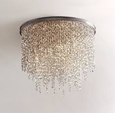 crystal ceiling light fixtures flush mount lightings and lamps