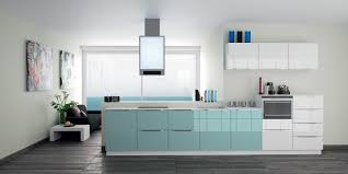 wonderful apartment kitchen design in small spaces with light blue
