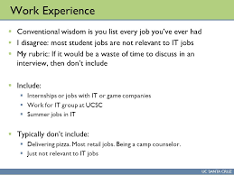 resume and portfolio uc santa cruz cmps 170 u2013 game design studio i