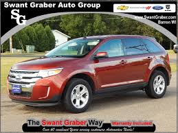 Ford Edge 2006 Used Car In Barron Used Ford Cars Swant Graber Ford