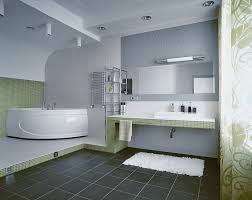 designing a modern small bathroom to look neat and efficient by
