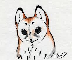 owl face by robthedoodler deviantart com on deviantart sketch