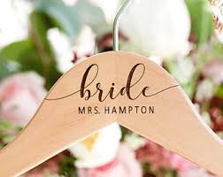 personalized engraved bridesmaid hangers by willowgracebridal