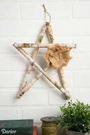 diy branch decor birch star darice