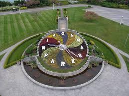 Niagara Botanical Garden Parks Floral Clock And Gardens