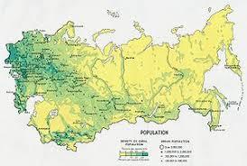 former soviet union map demographics of the soviet union