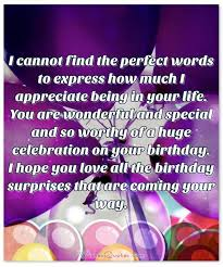 deepest birthday wishes for someone special in your adorable