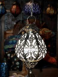 bohemian onion lamp hanging moroccan lantern lighting home decor