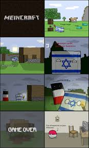 Minecraft Meme - polandball en mode minecraft meme by titi1012 memedroid