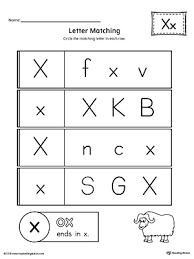 all about letter x printable worksheet myteachingstation com