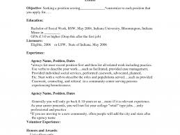 Social Work Resume Example by Work Resume Examples Haadyaooverbayresort Com