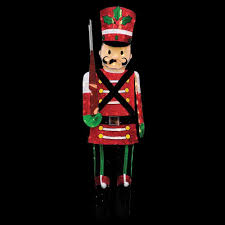 72 in candy cane lane pre lit led 3d toy soldier 96594 mp1 the