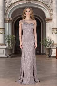long dress senalda evening dresses with sleeves vero milano