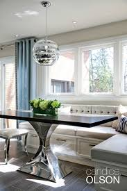 kitchen banquette ideas the challenge create seating for groups within a small space my