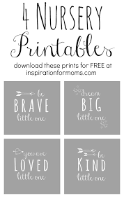 free nursery art printables inspiration for moms
