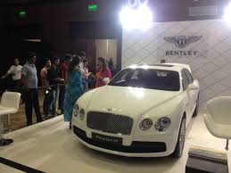 white bentley flying spur bentley exhibits flying spur v8 with t3 entertainment at luxe