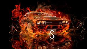 cool orange cars dodge challenger fire car 2013 el tony