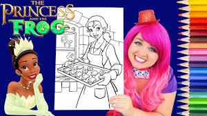 coloring princess tiana halloween coloring book page prismacolor