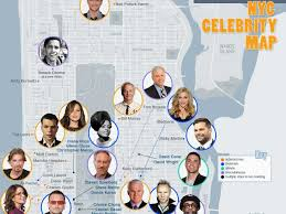 Soho Nyc Map Star Map Of Nyc Business Insider