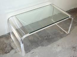 interior acrylic side table faedaworks com