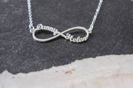 personalized names jewels two names infinity personalized name infinity name