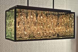 Glass Blown Chandelier Impressive Blown Glass Chandelier By Pomp Studios Pursuitist