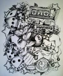 pin gambling tattoos life is a gamble tattoo designs images on