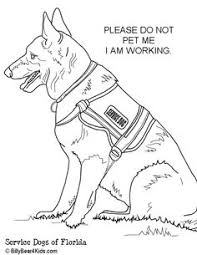 police dog coloring pages funycoloring