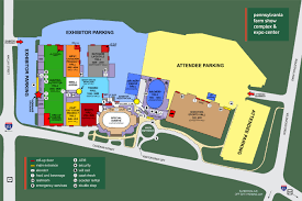 Map Of Hershey Pennsylvania by Great American Outdoor Show Exhibitor Resources