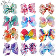 girl hair bows 12pcs lot 5 grosgrain ribbon hair bows with alliator