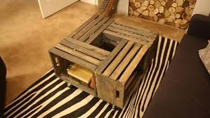 Wine Crate Coffee Table Diy by Diy Coffee Table Coffee Tables Are A Staple For Any Room But