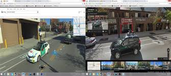 Google Com Maps Google Street View And Bing Maps Streetside View Collide Sorta
