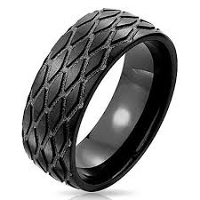 tire wedding rings tire tread wedding rings collection on ebay