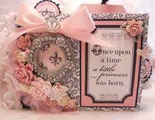 baby girl photo album baby girl mini scrapbook album secretbees studio sweet baby girl