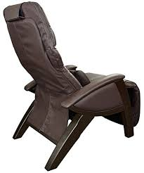 Zero Gravity Recliner Leather Zero Gravity Chair Brown Leather Walnut Finish