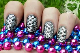 somethings about nail art rhinestone prettyfulz nail art gallery