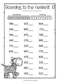free rounding worksheets 4th grade rounding em up math worksheets learning and