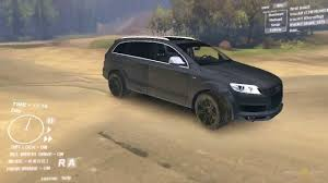 all audi q7 spin tires audi q7 v12 tdi
